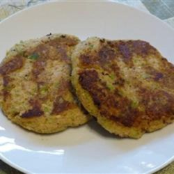 Cheryl's Veggie-Nut Patties Recipe