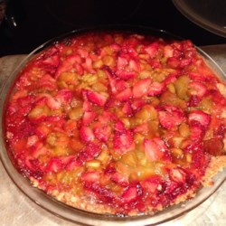First Prize Strawberry Rhubarb Crisp Recipe