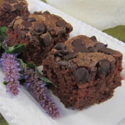 Zucchini Chocolate Chip Cake Recipe