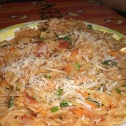 Vegetarian Lime Orzo