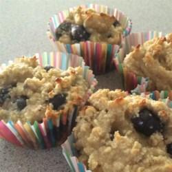 Banana Blueberry Almond Flour Muffins (Gluten-Free) Recipe ...