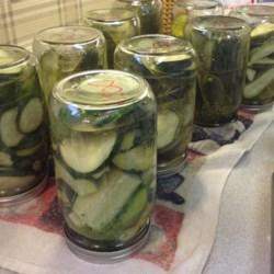 Pop's Dill Pickles Recipe