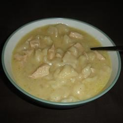 very tasty Chicken and dumplings