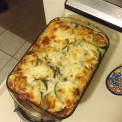 Roasted Zucchini Casserole Recipe