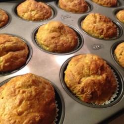 Savory Cheddar Zucchini Muffins Recipe