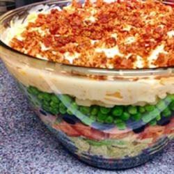 Nana's 7-Layer Salad Recipe