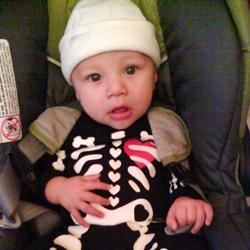 Urijah as a skeleton