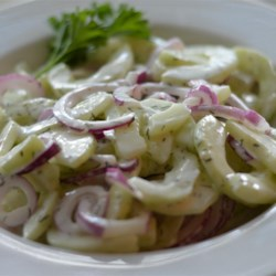 Best-Ever Cucumber Dill Salad Recipe