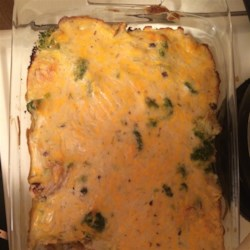 Turkey and Hash Brown Casserole Recipe