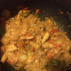 Nicola's Pad Thai Recipe