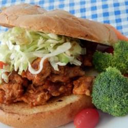 Thai Chicken Slaw Burgers Recipe