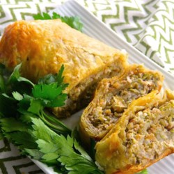 Brussels Sprouts and Feta Pastry Roll Recipe