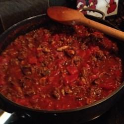 Grandma Maggio's Spaghetti Sauce Recipe