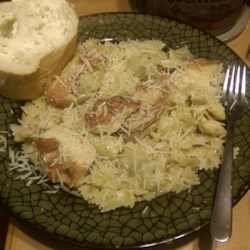 Lemony Chicken with Artichoke Hearts Recipe