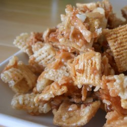 Toasty Sweet Coconutty Graham Chex Mix(R) Recipe