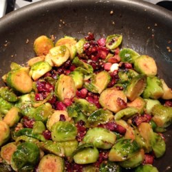 Skillet-Braised Brussels Sprouts Recipe