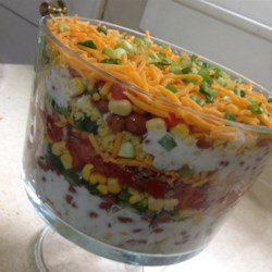 mexican cornbread salad recipe photos