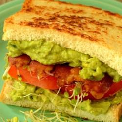 Midnight Snack Avocado Sandwich Recipe