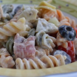 Chicken Alfredo Pasta Salad Recipe