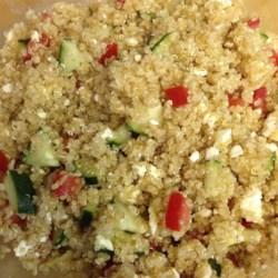 Quinoa Summer Salad with Feta Recipe