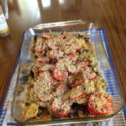 Zucchini e Pomodori Gratinati (Zucchini and Tomato Gratin) Recipe