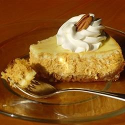 Marbled Pumpkin Cheesecake Recipe - Allrecipes.com