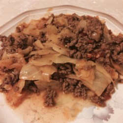 'Unstuffed' Cabbage with a Kick Recipe