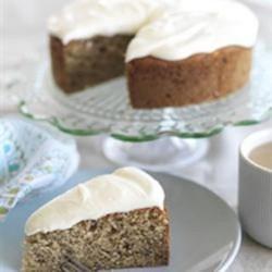Cinnamon Banana Cream Cake Recipe