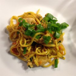 Chow Mein with Chicken and Vegetables Recipe
