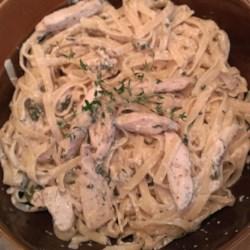 Thyme Mint Chicken Pasta Recipe