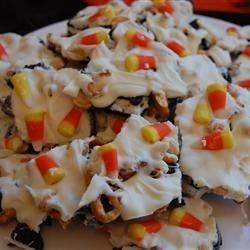 candy corn bark photos