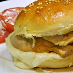 Heavenly Chicken Garlic Sandwiches Recipe