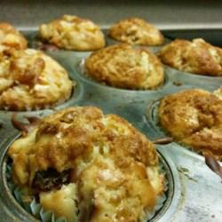 Beth's Peach-Nectarine Muffins Recipe