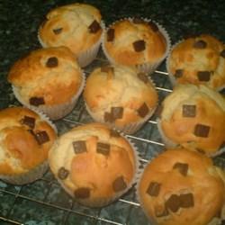 Chocolate Chip Cream Cheese Muffins