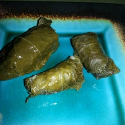 My Own Famous Stuffed Grape Leaves Recipe