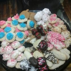Cherry Snowball Cookies Recipe
