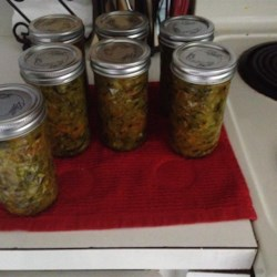Easy Zucchini Relish Recipe