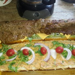 Carne Asada Sandwich Recipe
