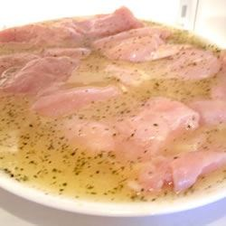 Chicken Breasts in Marinate