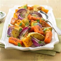 Napa Style Roasted Vegetables with Diamond Crystal(R) Sea Salt