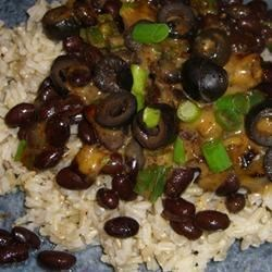Amy's Spicy Beans and Rice