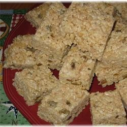 Indian Spiced Rice Treats
