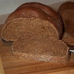 Bread Machine Pumpernickel Bread |