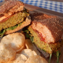 Black Bean and Soy Veggie Burgers Recipe