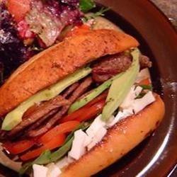 Photo of Kings Flat Iron Steak Sandwich by Jackie B.
