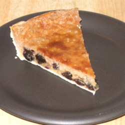 Sour Cream Custard Pie