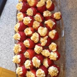Cheesecake-Stuffed Strawberries Recipe