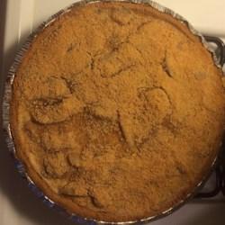 Sour Cream Pear Pie Recipe
