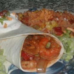 Quick and Easy Shrimp Fajitas