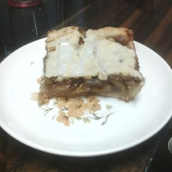 Cinnamon Apple Pie Bars Recipe